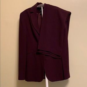 Vintage NY&CO plum colored suit